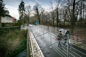 Verkehr ausgesperrt wegen Nichtsanierung: Brücke zum Anger